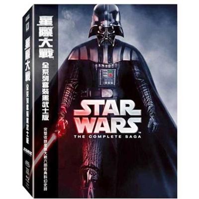 星際大戰全系列套裝黑武士版(9碟裝) 藍光 BD