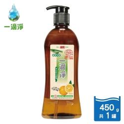 一滴淨蘆薈多酚洗碗精 柑橘精油450g