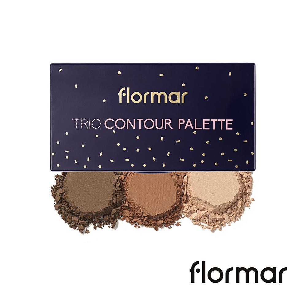 法國Flormar - 迷幻星夜-三重奏修容盤 #02健康色