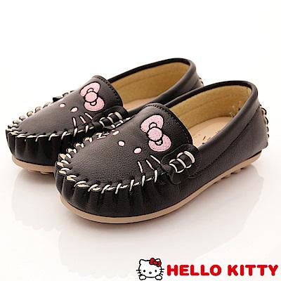 HelloKitty童鞋 休閒豆豆娃娃鞋款 SE18628黑(中小童段)