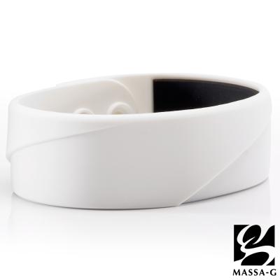 MASSA-G X ACHOS【ARC Master-White】 鍺鈦手環