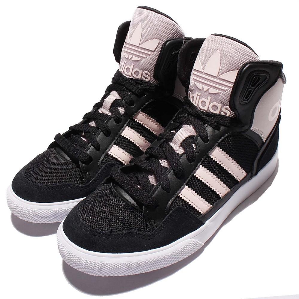 adidas休閒鞋Extaball W高筒基本款女鞋