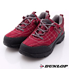 日本DUNLOP機能健走鞋-3E寬楦435-15酒紅色-女段