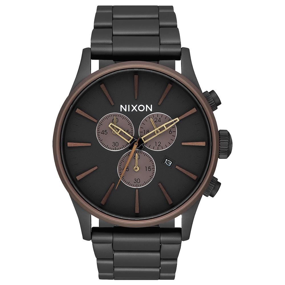 NIXON 藍調搖滾潮流運動腕錶-A3862786-42mm