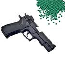 M4506造型6mm彈徑單發式手拉空氣BB槍+0.25G高精密研磨 BB彈(1