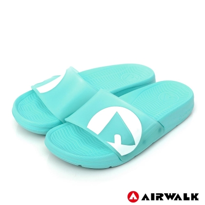 AIRWALK - 水漾果凍AB拖-湖水藍