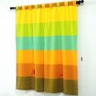 布安於室-色塊純棉窗簾-混色
