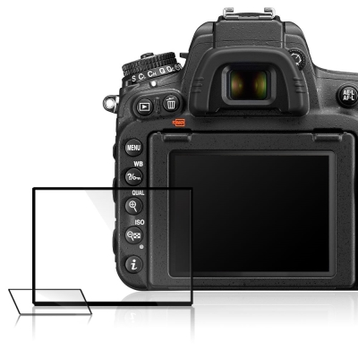 LARMOR金鋼防爆玻璃相機保護貼-NIKON D750專用