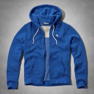 AF a&f Abercrombie & Fitch 外套 藍色 0216