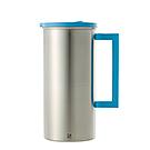 JVR 韓國原裝明星不銹鋼防塵蓋水壺 1.6L (藍)
