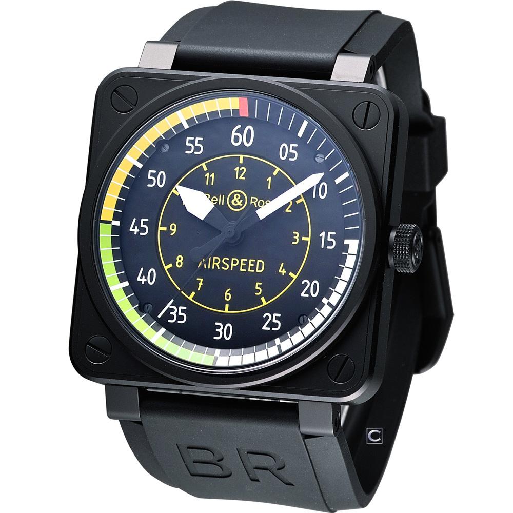 Bell & Ross BR 01 AIRSPEED 航空競速機械腕錶-46mm