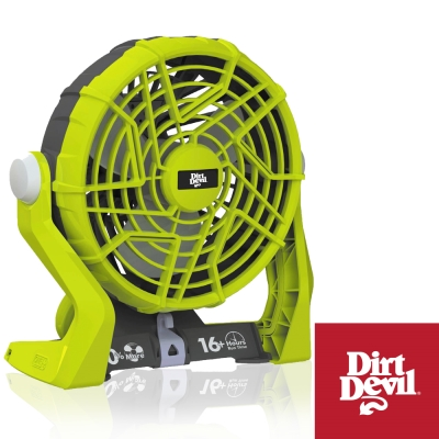 DirtDevil ONE+鋰電系列 兩段式調速 無線大風速循環扇