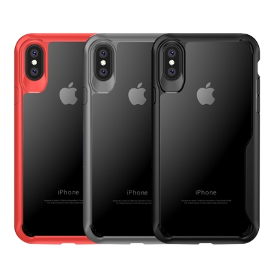 QinD Apple iPhone X 簡約防摔套