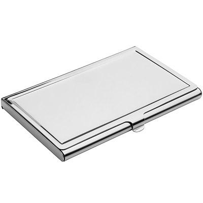 REFLECTS 雙質感名片盒(亮銀)