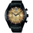 WIRED x 正義聯盟 JL 聯名限量計時手錶(AY8038X1)-金x鍍黑/45mm