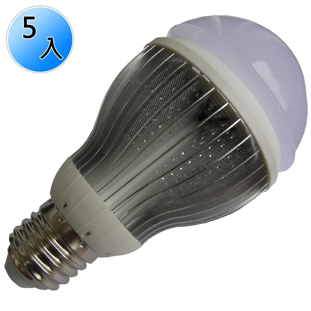 【未來之光】超節能-LED12W燈泡-白光/黃光(二款可選)5入/組