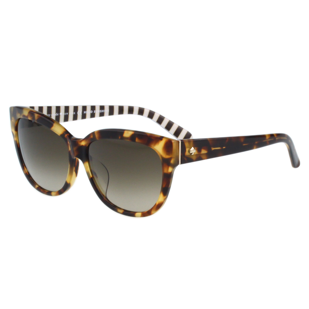 Kate Spade-時尚復古 太陽眼鏡(琥珀色) @ Y!購物