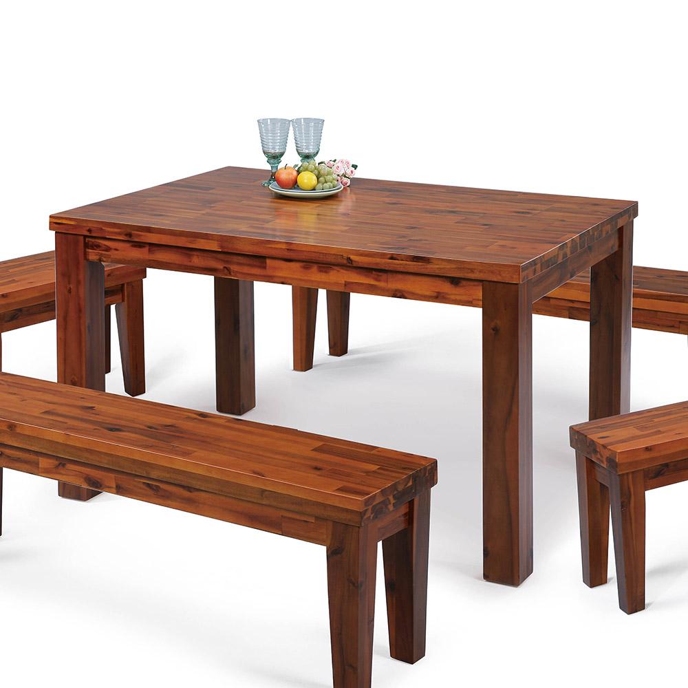 H&D 相思木4.5尺餐桌 (寬135X深80X高75cm)