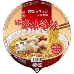 台酒TTL 麻油雞碗麵(200g)