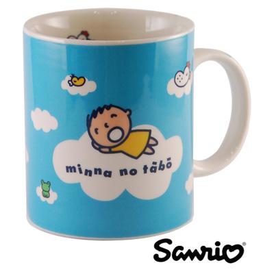 SANRIO三麗鷗360CC馬克杯系列-MinnaNoTabo大寶馬克杯