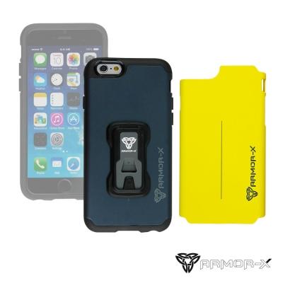ARMOR-X CX-iphone 6 堅硬防撞手機殼(附兩色背蓋)