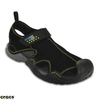 Crocs 卡駱馳 (男) 激浪涉水涼鞋-15041-070