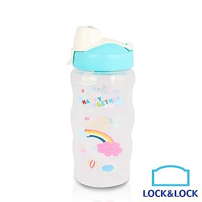 樂扣樂扣 兒童彩繪AQUA系列水壺350ML /甜甜藍
