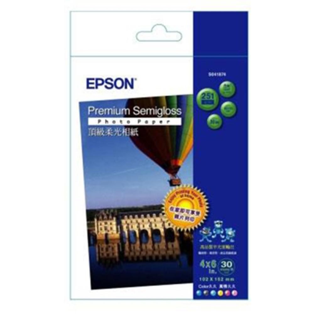 EPSON 4x6頂級柔光相紙(S041874)