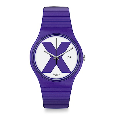 Swatch The X-Vibe XX-RATED PURPLE 紫色X手錶