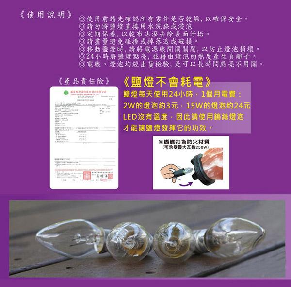 鹽燈能量館-電線材料包2w燈泡材料10顆組_電線不可微調