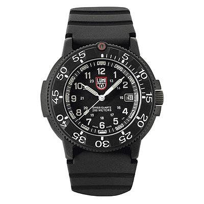 Luminox 海豹部隊經典系列經典腕錶-黑x白時標/43mm