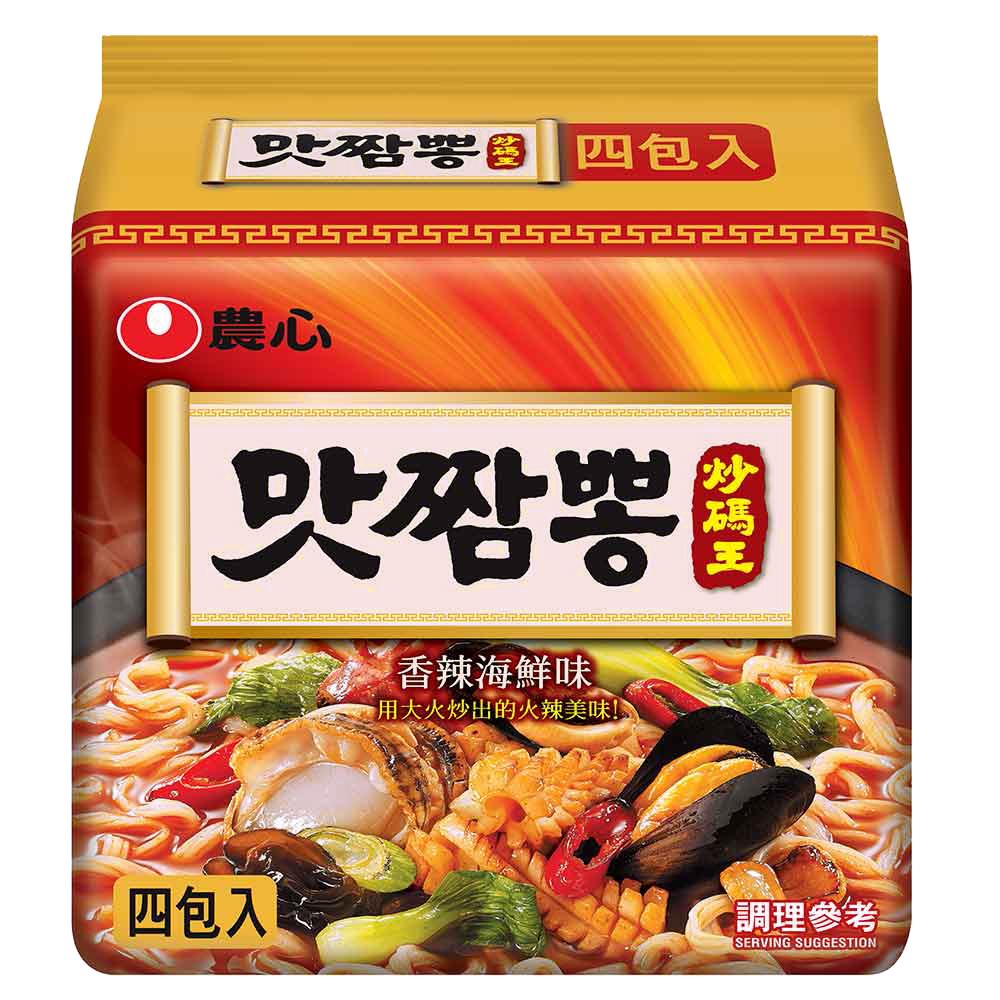 農心 炒碼麵(130g×4入)