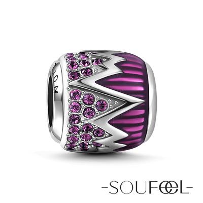 SOUFEEL索菲爾 925純銀珠飾 決心石 串珠