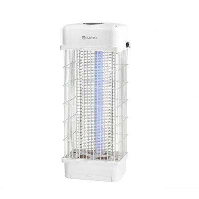 KINYO 10W電擊式UVA燈管捕蚊燈(KL-621)高密集電網