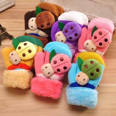 韓版可愛保暖造型手套