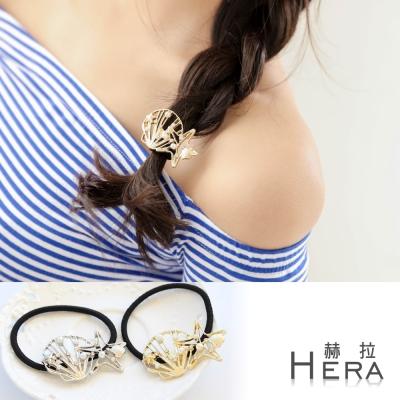 Hera 赫拉 Hera 赫拉 貝殼海星珍珠水鑽髮圈/髮束 二色任選