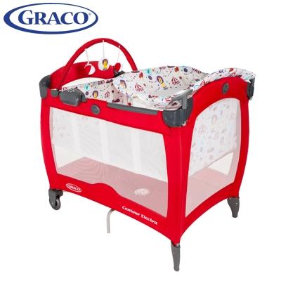 【Graco】 舒適嬰幼兒電動安撫遊戲床 Contour Electra 遊樂園
