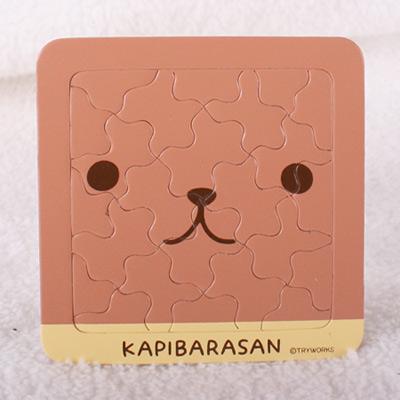 Kapibarasan 水豚君系列杯墊拼圖
