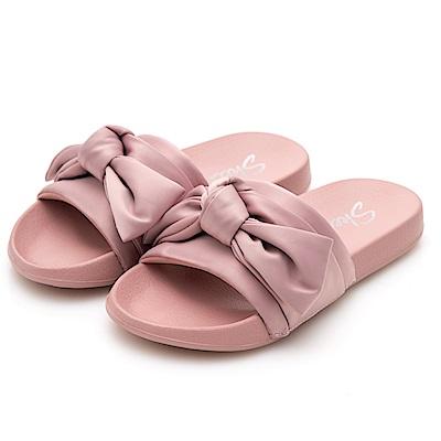 SKECHERS (女) 時尚休閒系列 2ND TAKE 拖鞋- 31533ROS