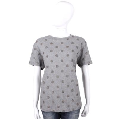 RED VALENTINO 灰色波卡圓點設計短袖T恤