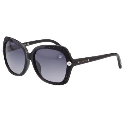 SWAROVSKI太陽眼鏡-奢華奪目-黑色-SW9062