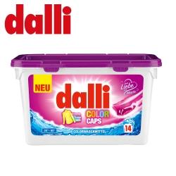 德國達麗Dalli-護色洗衣膠囊(14球/盒)