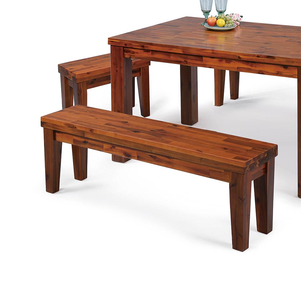 H&D 相思木長板凳 (寬160X深35X高45cm)