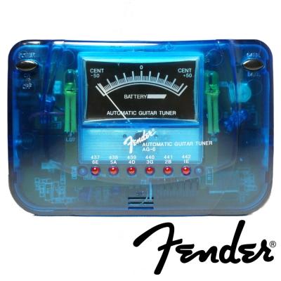 FENDER AG6 數位式調音器 (藍色)