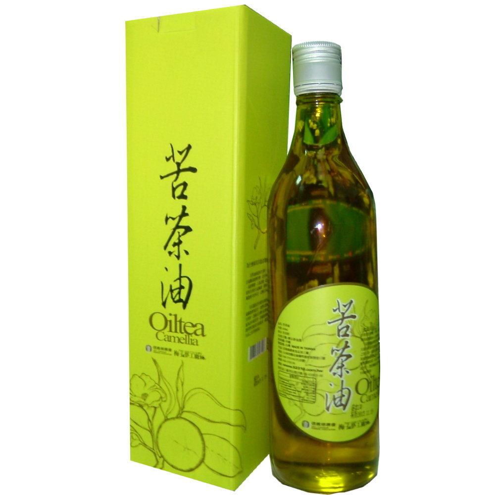 信義鄉農會 苦茶油(600mlx4瓶)