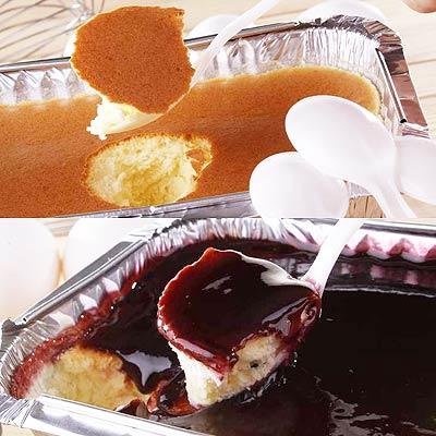 【小山】輕乳酪+藍莓輕乳酪(各1入)