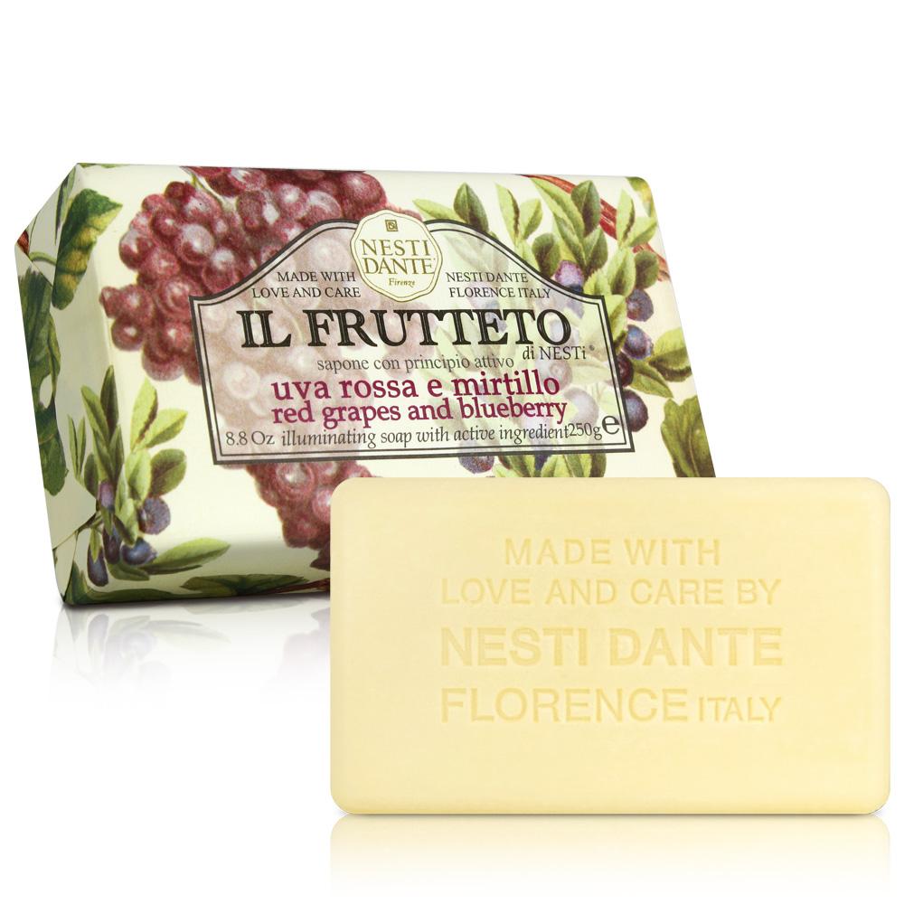 Nesti Dante 天然鮮果系列-紅葡萄藍莓皂(250g)X2入