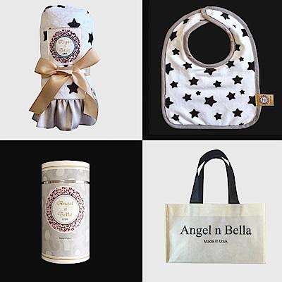 美國 Angel n Bella 許願星星安撫彌月禮盒