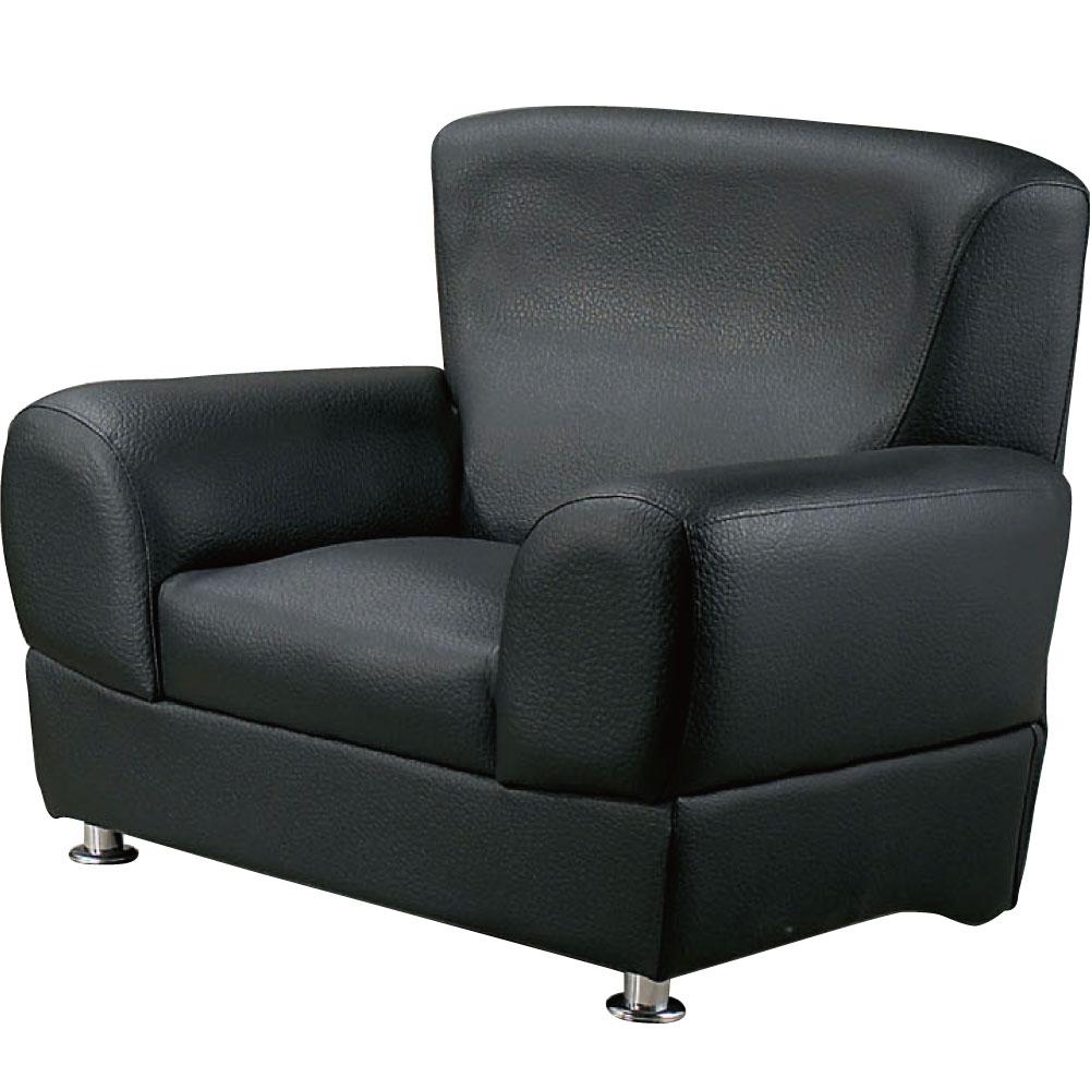 單人座沙發 葛林皮革 三色可選 品家居