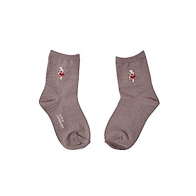 7321 Design 經典童話圖騰童襪(1雙入) S-愛麗絲-棕灰